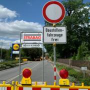 """""""Alle sind glücklich!"""": Ortsdurchfahrt Bindlach in wenigen Stunden wieder frei. Foto: Katharina Adler"""