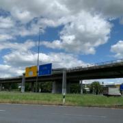 Abriss und Erneuerung der Hochbrücke in Bayreuth sollen im Frühjahr 2021 beginnen, doch zuerst müssen die Einwendungen bearbeitet werden. Foto: Katharina Adler
