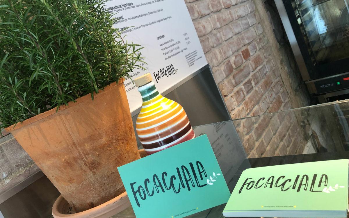 Das Focacciala in Bayreuth gibt's seit einer Woche. Foto: Christoph Wiedemann