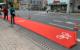 Bayreuth soll fahrradfreundlicher werden. Hier hat der Radentscheid Bayreuth einen Pop-Up_Radweg errichtet. Archivfoto: Katharina Adler
