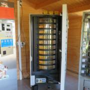 Automaten einer Milchtankstelle in Oberfranken sind geknackt worden. Foto: Polizei