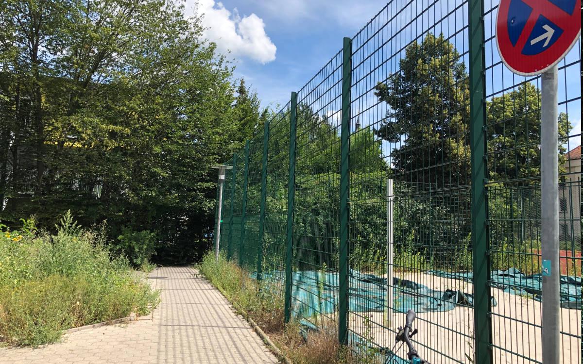 Beim Pocketpark in der Dammallee in Bayreuth soll weiter gebaut werden. Foto: Ricarda Schoop
