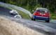 Der Bayreuther Rennfahrer Jens Klusmann in seinem Auto im Rennen. Foto: Privat