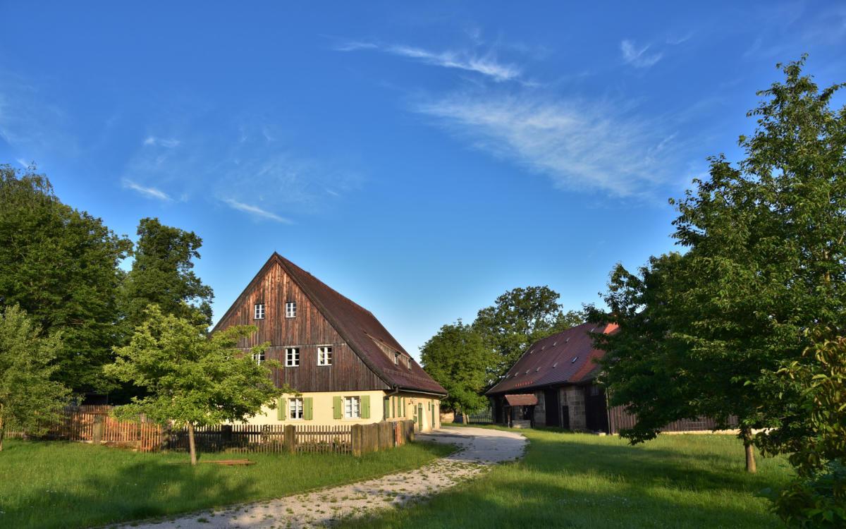 Das Museum für bäuerliche Arbeitsgeräte in Bayreuth. Foto: Johannes Kempf