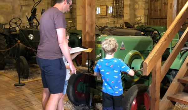 Ferienspaß im Museum für bäuerliche Arbeitsgeräte in Bayreuth. Foto: Nicole Fleischer