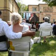 Wahnfried Open Air in Bayreuth. Die Alternative zur Eröffnung der Bayreuther Festspiele. Foto: Christoph Wiedemann