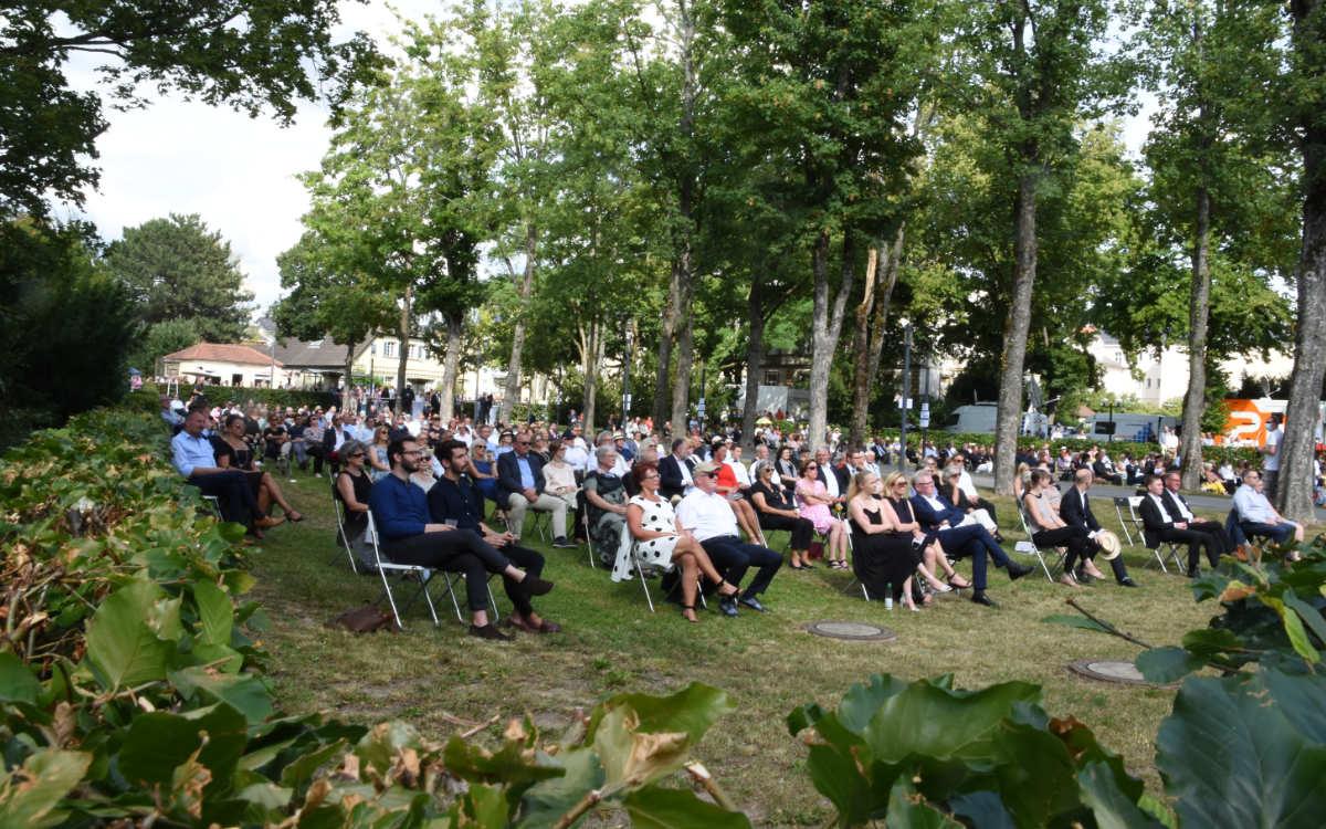 Wahnfried Open Air statt Eröffnung der Bayreuther Festspiele. Foto: Christoph Wiedemann