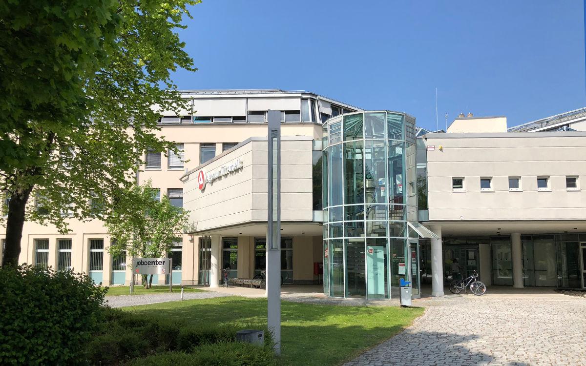 Die Agentur für Arbeit in Bayreuth. Foto: Redaktion