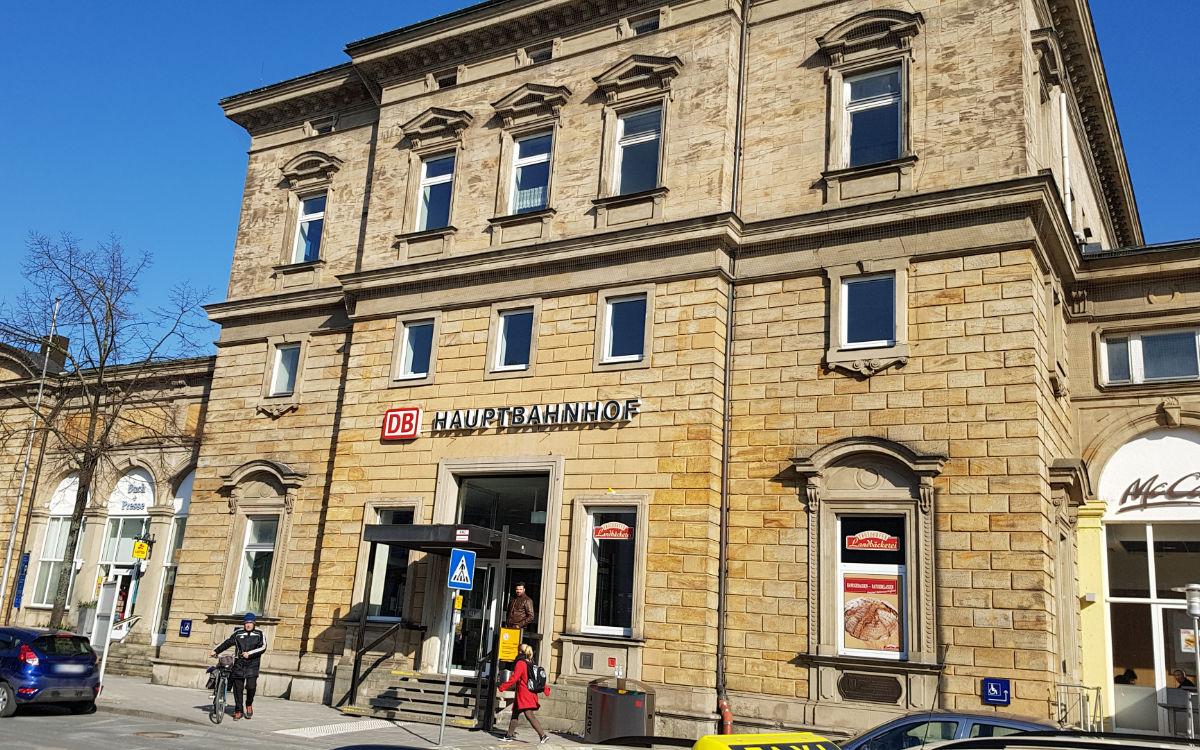 Die Familienbuchhandlung Wuttke im Bayreuther Bahnhof hört auf - ein Schweizer Unternehmen übernimmt. Archivfoto: Redaktion