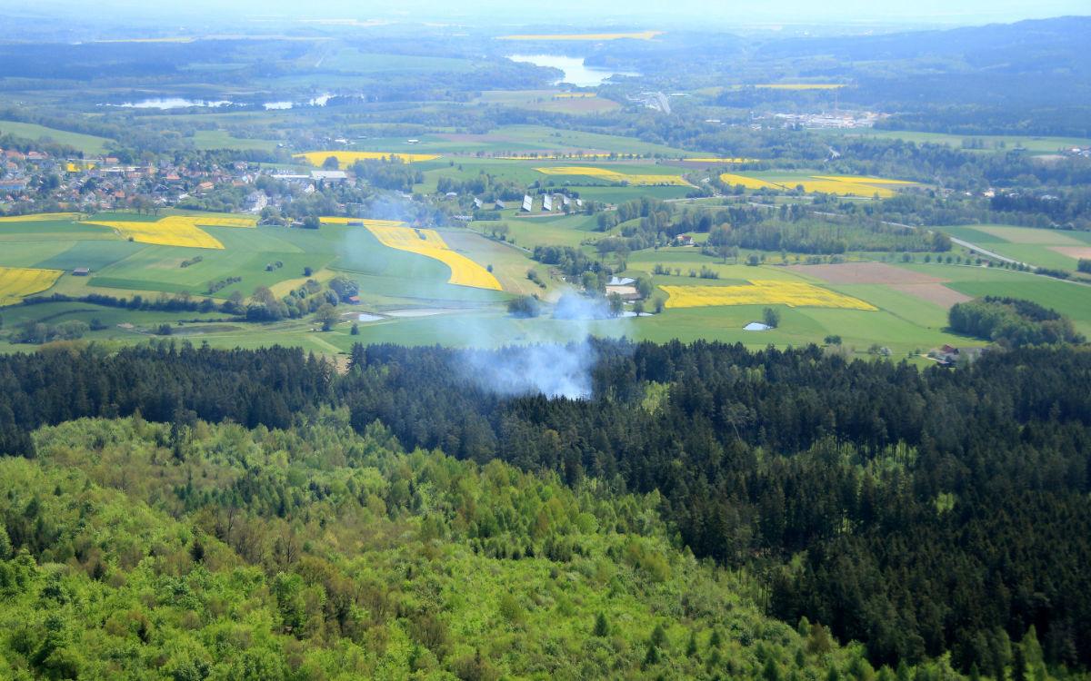 Die Waldbrandgefahr in Oberfranken steigt wieder. Foto: Regierung Oberfranken