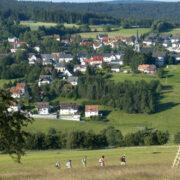 Blick auf Bischofsgrün. Foto: Andreas Hub
