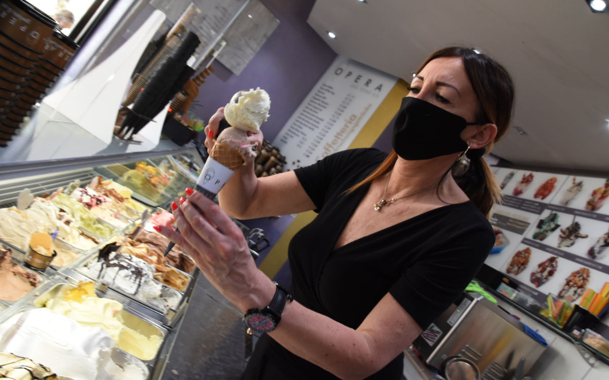 Die bt-Leser finden: Das Eis bei Opera schmeckt am besten. Foto: Christoph Wiedemann