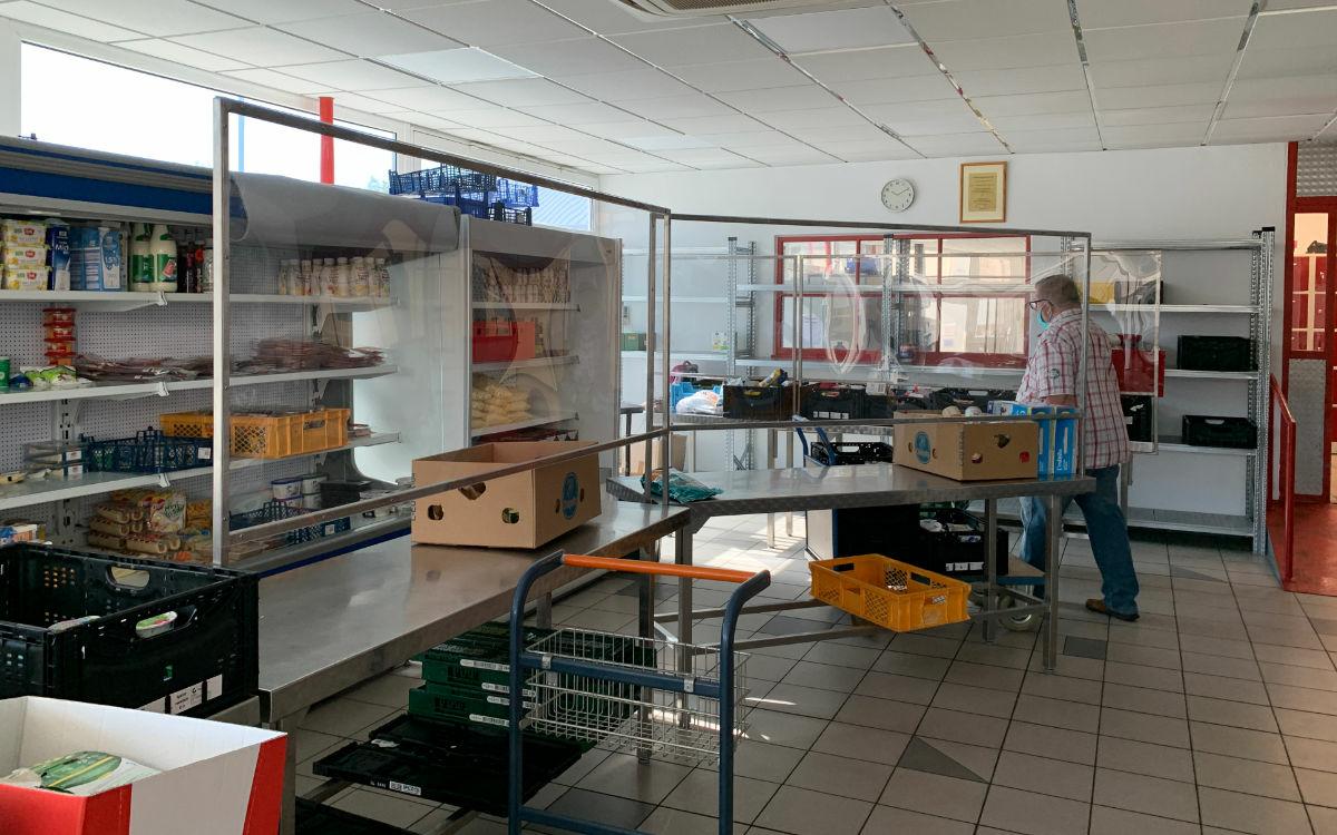 Der Tafelladen ist in verschiedene Stationen unterteilt. Foto: Katharina Adler