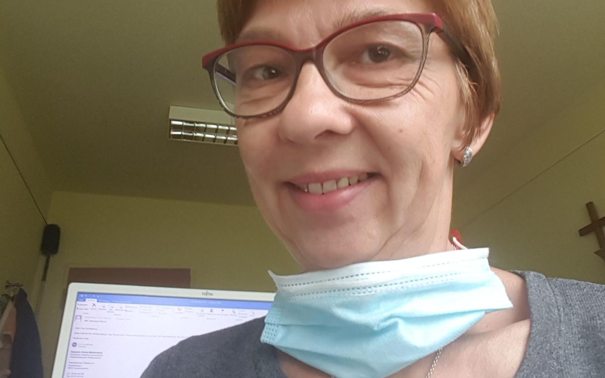 Pflegekraft Schreglmann in Zeiten des Coronavirus. Foto: privat