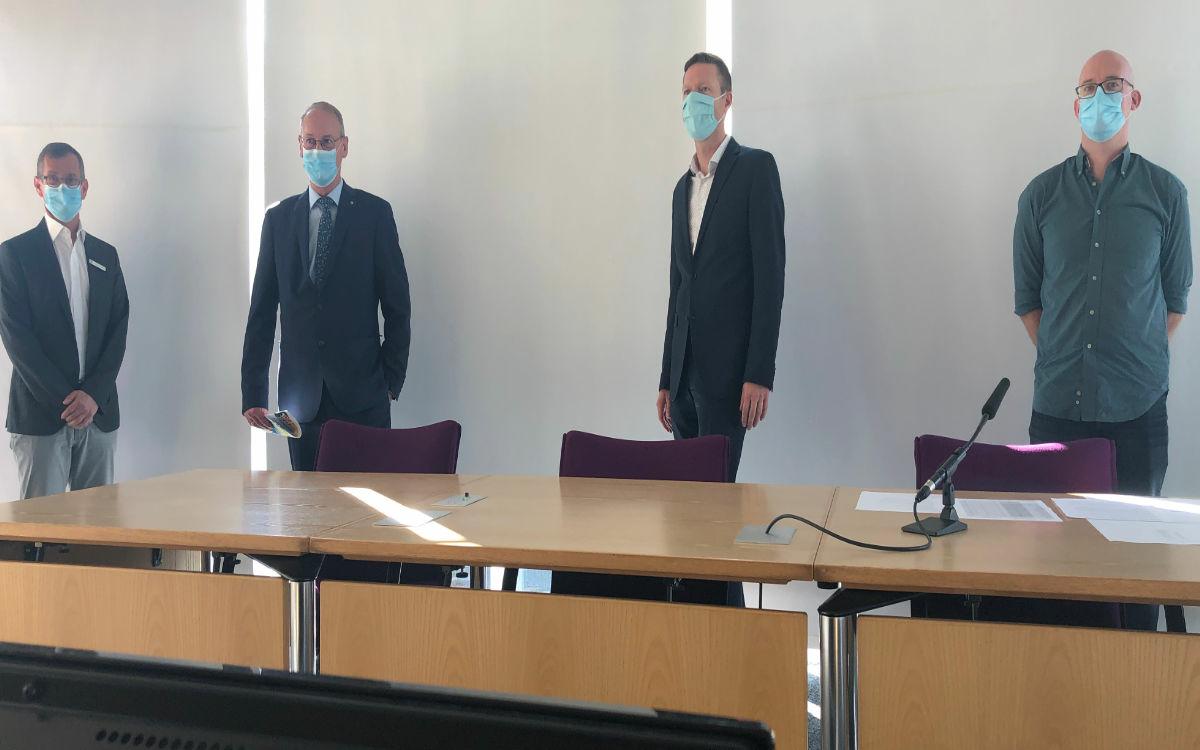 Coronavirus im Raum Bayreuth. Das Landratsamt erklärt die aktuelle Lage. Foto: Christoph Wiedemann