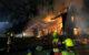 Ein Bauernhaus brannte in Oberfranken nieder. Foto: Polizei