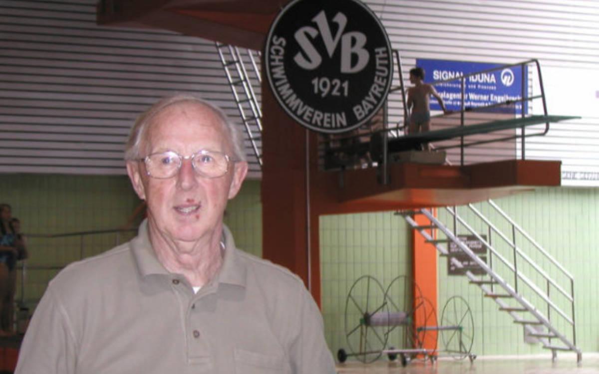 Der Bayreuther Helmut Künzel ist im Alter von 93 Jahren verstorben. Foto: Stephan Müller
