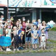 Auch Kinder kämpfen in Schnabelwaid um den Erhalt der Grundschule. Foto: privat