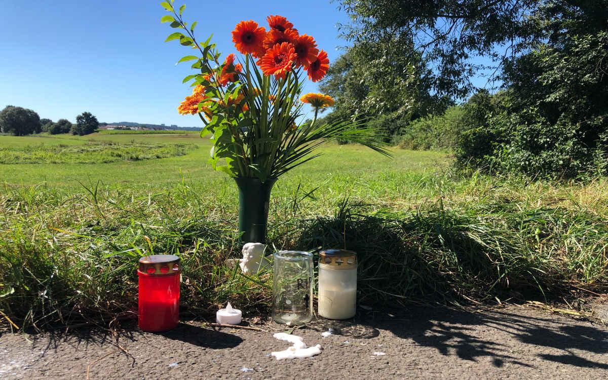 Mord auf dem Radweg in Bayreuth. Seit einem Jahr wird der Mörder gesucht. Archivfoto: Christoph Wiedemann