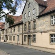 """Die """"Alte Münze"""" in Bayreuth. Hier entsteht ein Gemeinde- und Kulturzentrum für die israelitische Kultusgemeinde Bayreuth. Foto: Frederik Eichstädt"""