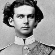 König Ludwig II 1864. Foto: Joseph Albert