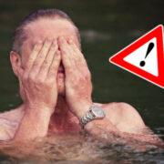 Im Naherholungsgebiet Mainaue, der Kieswäsch, ist Baden verboten. Schwimmen ist erlaubt. Symbolfoto: Pixabay
