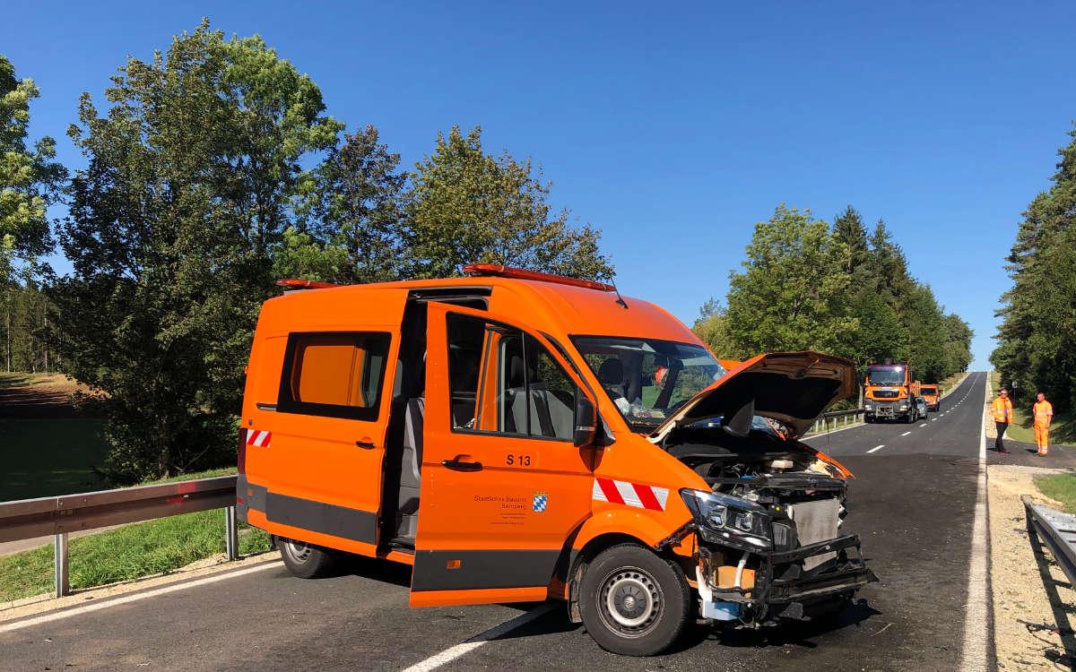Im Landkreis Bayreuth hat es bei Hollfeld einen Unfall gegeben. Foto: News5/Fricke