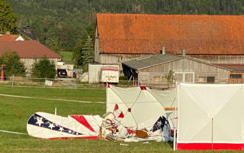 Kleinflugzeug in Oberfranken abgestürzt - Pilot tot. Foto: News5