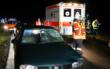 Am Freitagabend (25.9.2020) hat ein Autofahrer in Oberfranken einen Fußgänger übersehen. Der wurde schwerverletzt ins Krankenhaus geflogen. Foto: News5