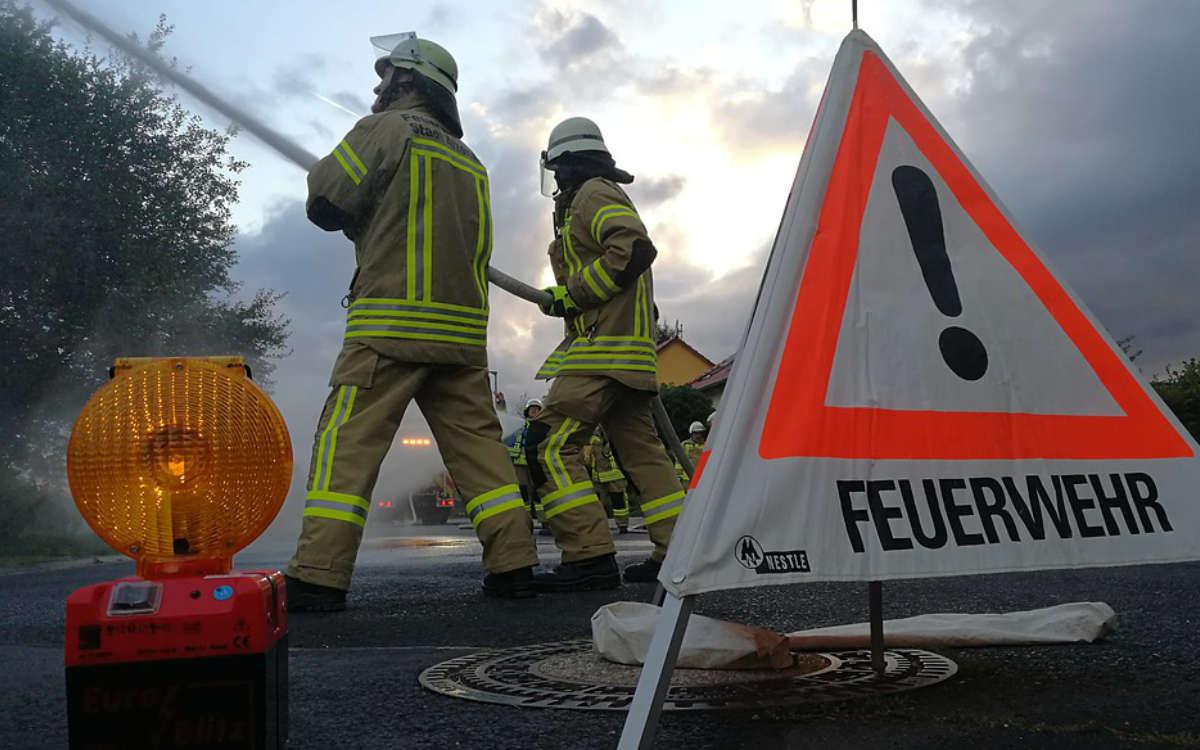 Feuer in einer Firma in Pinzberg im Kreis Forchheim ausgebrochen. Symbolfoto: Pixabay