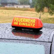 Feuer im Landkreis Bayreuth. Ein Zeuge verhinderte Schlimmeres. Symbolfoto: Pixabay