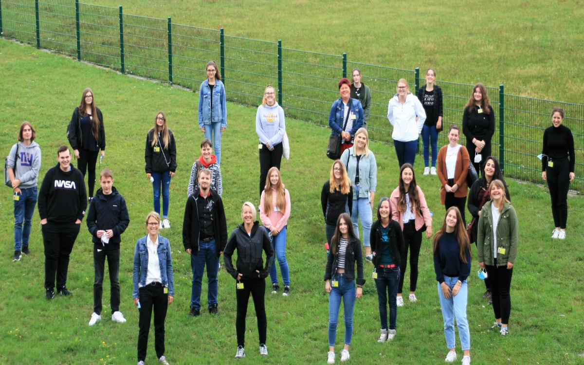 Neue Azubis am Klinikum Bayreuth und Hohe Warte. Foto: Klinikum Bayreuth