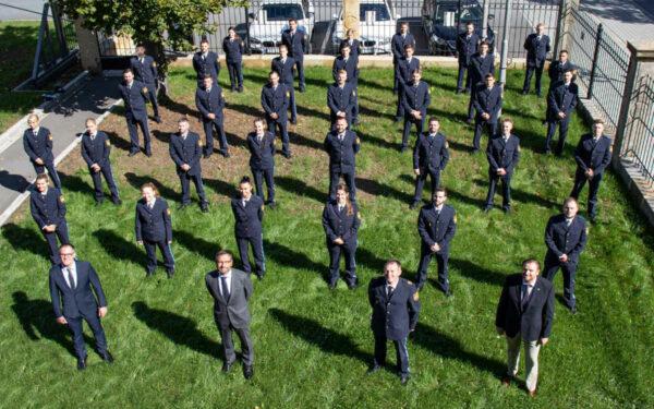Die Azubis der Polizei Oberfranken in Bayreuth. Foto: Polizei Oberfranken