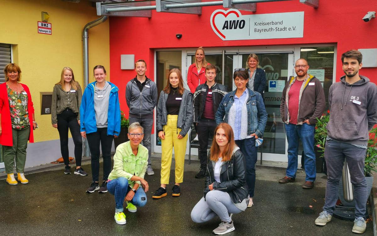 Neue Azubis bei der AWO Bayreuth (Jugendreferat). Foto: AWO Bayreuth