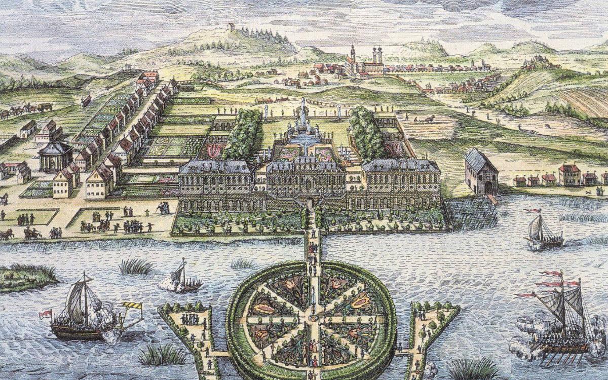 Historische Ansicht von St. Georgen und dem Brandenburger See. Repro: Stephan Müller