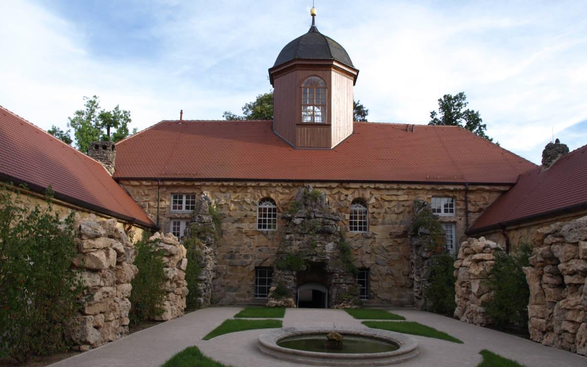 Das Alte Schloss in der Eremitage. Foto: Benni Müller
