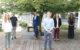 Die Ausbildung von Nachwuchskräften nimmt im Landkreis Bayreuth seit jeher einen hohen Stellenwert ein. So haben zum 01.09.2020 drei kommunale und eine staatliche Nachwuchskraft ihren Dienst beim Landratsamt aufgenommen. Landrat Florian Wiedemann (3. v. l) begrüßte zusammen mit der Ausbildungsbeauftragten Carolin Schmidt (r.) die Auszubildenden für den Beruf der Verwaltungsfachangestellten Lara Fremuth (ganz links) und Milena Böhm (2. v. r.), den Verwaltungssekretäranwärter Jakob Ehlich (2. v. l) und den Regierungssekretäranwärter Sebastian Reichel (3. v. r.) und wünschte viel Freude und Erfolg. Foto: Landkreis Bayreuth