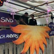 Sonnentanz Open Air 2019. Auch 2020 wird im Zentrum Bayreuth wieder die Techno-Party gefeiert. Archiv: Redaktion