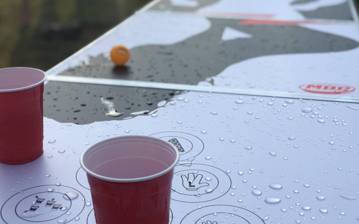 Beerpong wird auch in Deutschland immer beliebter. Foto: mybeerpong.de