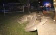 In Bayreuth hat ein Autofahrer die Kontrolle über seinen Wagen verloren. Er schleuderte über den Gehweg und krachte in eine Mauer. Foto: News5/Holzheimer
