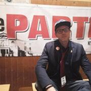 Florens Weiß ist Direktkandidat der PARTEI im Kreis Bayreuth für die Bundestagswahl 2021. Foto: Die PARTEI