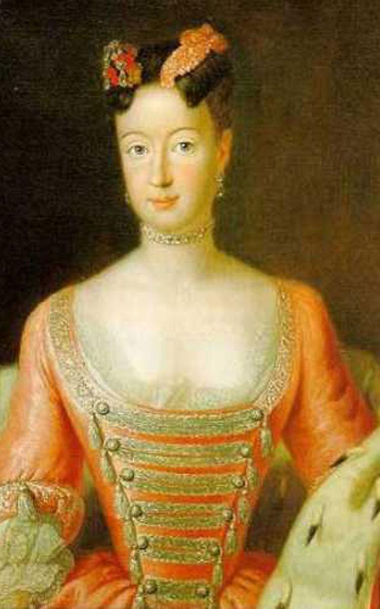Markgräfin Wilhelmine - Ehefrau von Markgraf Friedrich. Repro: Stephan Müller