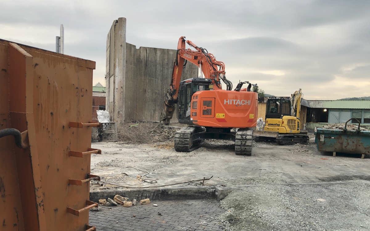 Nach dem Brand im Lebenswerk Bayreuth werden nun die Schäden beseitigt. Foto: Frederik Eichstädt