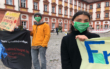 Fridays For Future Demonstration in Bayreuth. Foto: Christoph Wiedemann