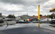 Verkehrschaos bei Gratis-Tank-Aktion in Bindlach. Archivfoto: Christoph Wiedemann