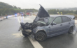 Nach einem Unfall wurde die A9 am Bindlacher Berg voll gesperrt. Foto: Feuerwehr Bindlach