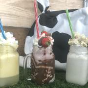 Die beliebtesten Getränke in der Milchbar Bayreuth sind die Freakshakes. Am 30. September hat das Pop-Up-Café zum letzten Mal geöffnet. Foto: privat