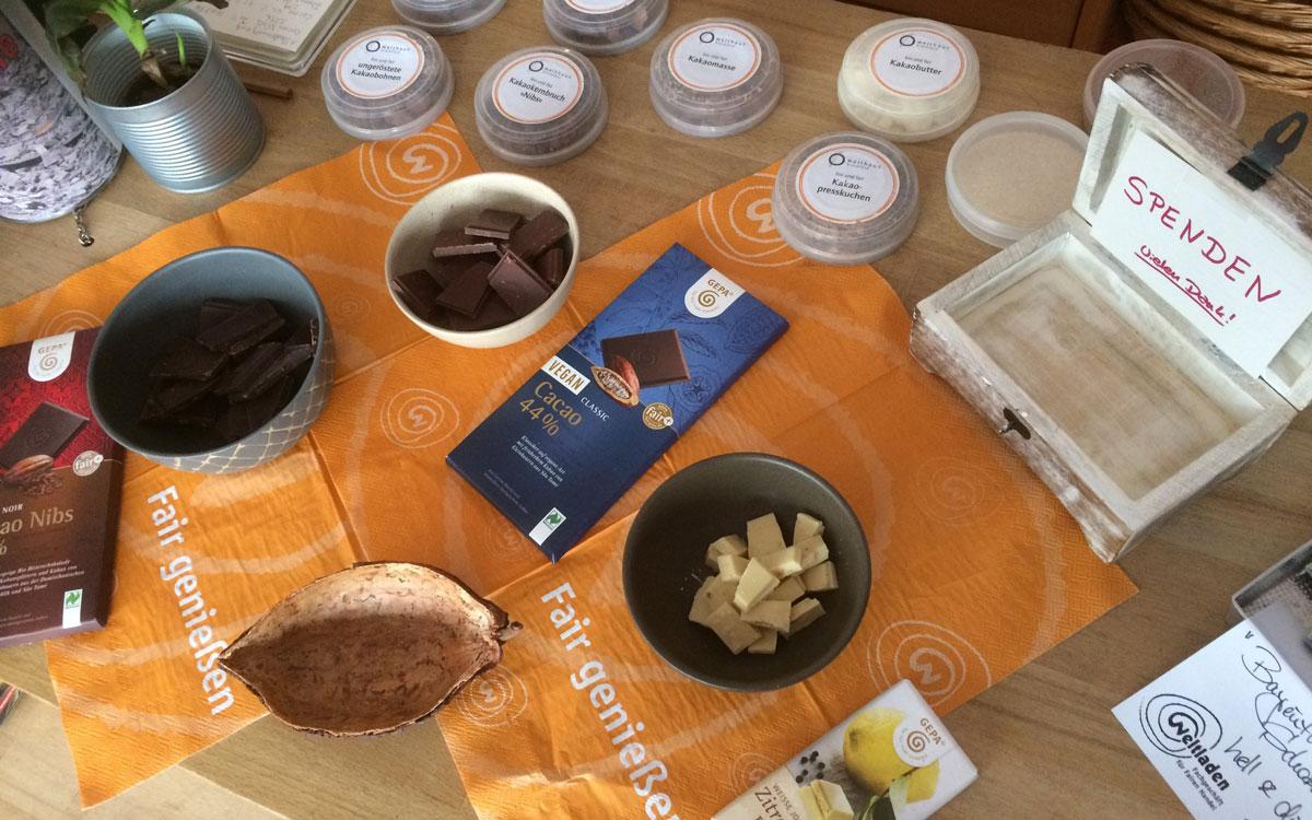 Der Weltladen in Bayreuth verkauft fair gehandelte Produkte aus der ganzen Welt. Foto: PR Weltladen