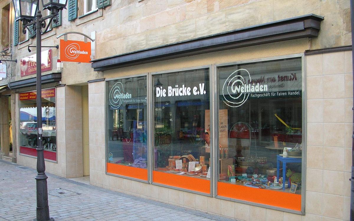 Der Weltladen in Bayreuth ist in der Ludwigstraße zu finden. Foto: PR Weltladen