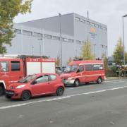Großeinsatz der Feuerwehr in Bayreuth. Foto: Raphael Weiß